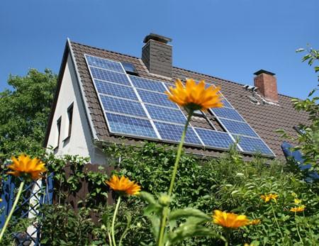 Huis verwarmen op zonneenergie