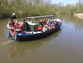 Rondvaart Biesbosch op fluisterboot, varen op zonne-energie!