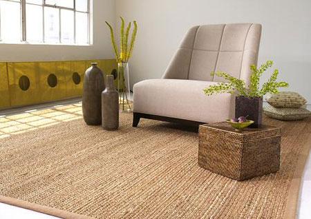 Duurzaam wonen alles over jute tapijt - Alfombras de salon ikea ...