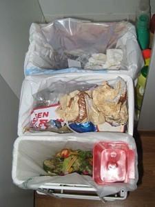 Afvalscheiden keuken