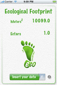 Eco footprint duurzame app
