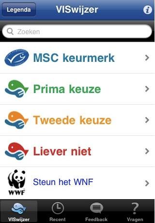 Viswijzer app