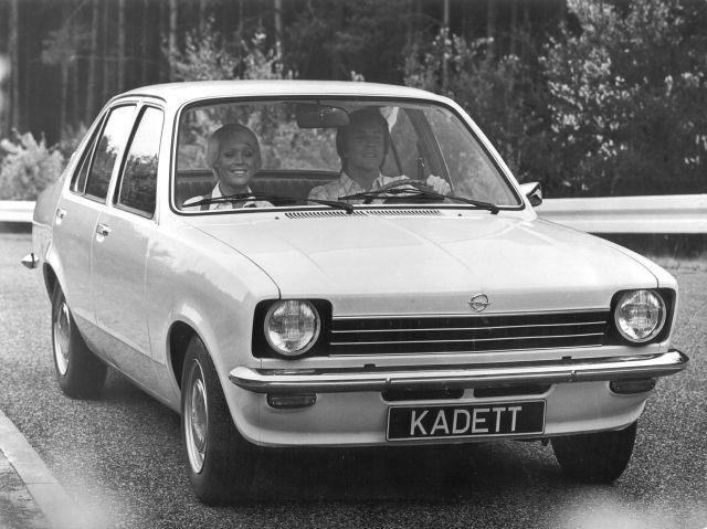 Opel kadet wit