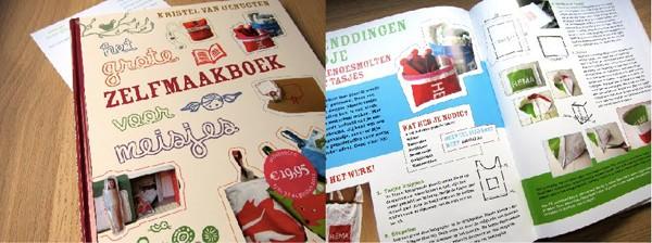 Zelfmaakboek meisjes boekreview