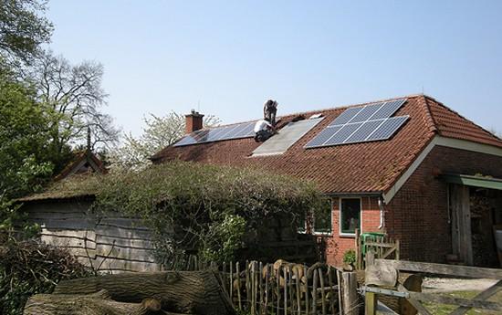 Zonnepanelen huis