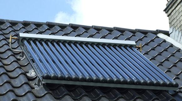 Zonneboiler duurzame warmte
