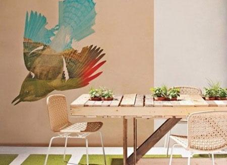 Pallet duurzame tafel