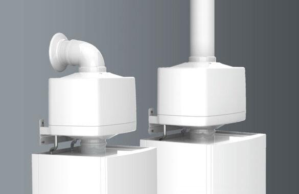Warmtewisselaar cv ketel ecoflo