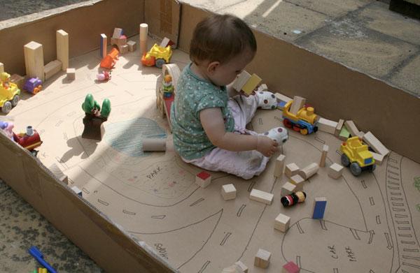Duurzaam spelen met upcycled karton