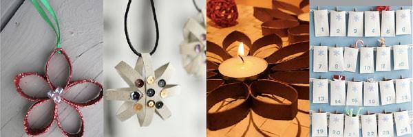 Wc rolletje decoratie kerst duurzaam thuis duurzaam for Zelf decoratie maken