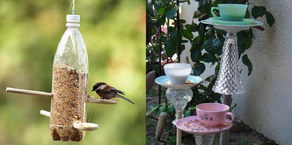 Duurzame vogel voederhuisjes en voederplateaus zelf maken for Huis duurzaam maken
