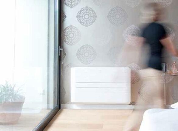 Energiezuinige airco verwarming