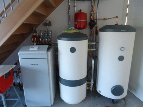 Buffervat warmtepomp tapwater