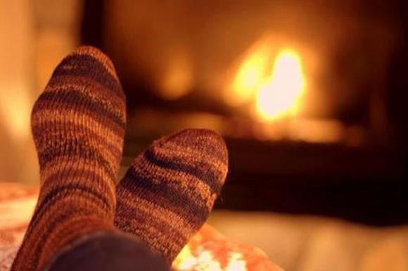 Bespaar op verwarming door sokken dragen
