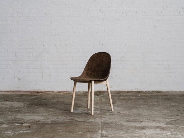 Terroir Chair gemaakt van duurzaam zeegras