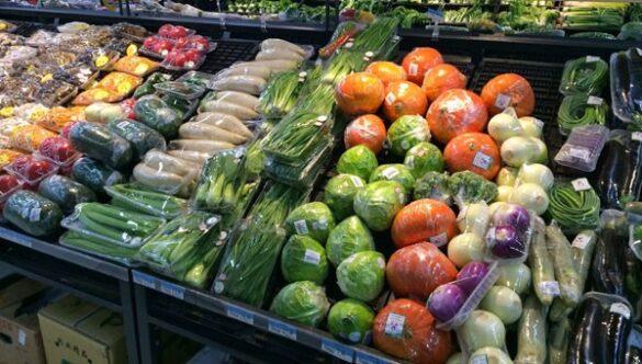 Plastic verpakking supermarkt