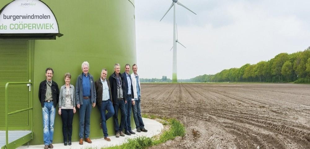 Cooperatie windenergie zelf windenergie opwekken