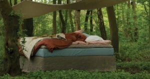 Duurzame slaapkamer natuurlijke materialen