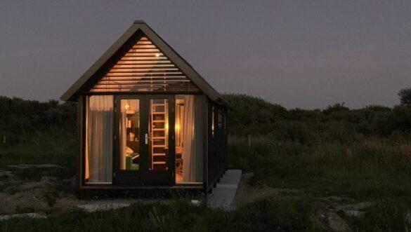 Voorbeeld Tiny house om te bezichtigen