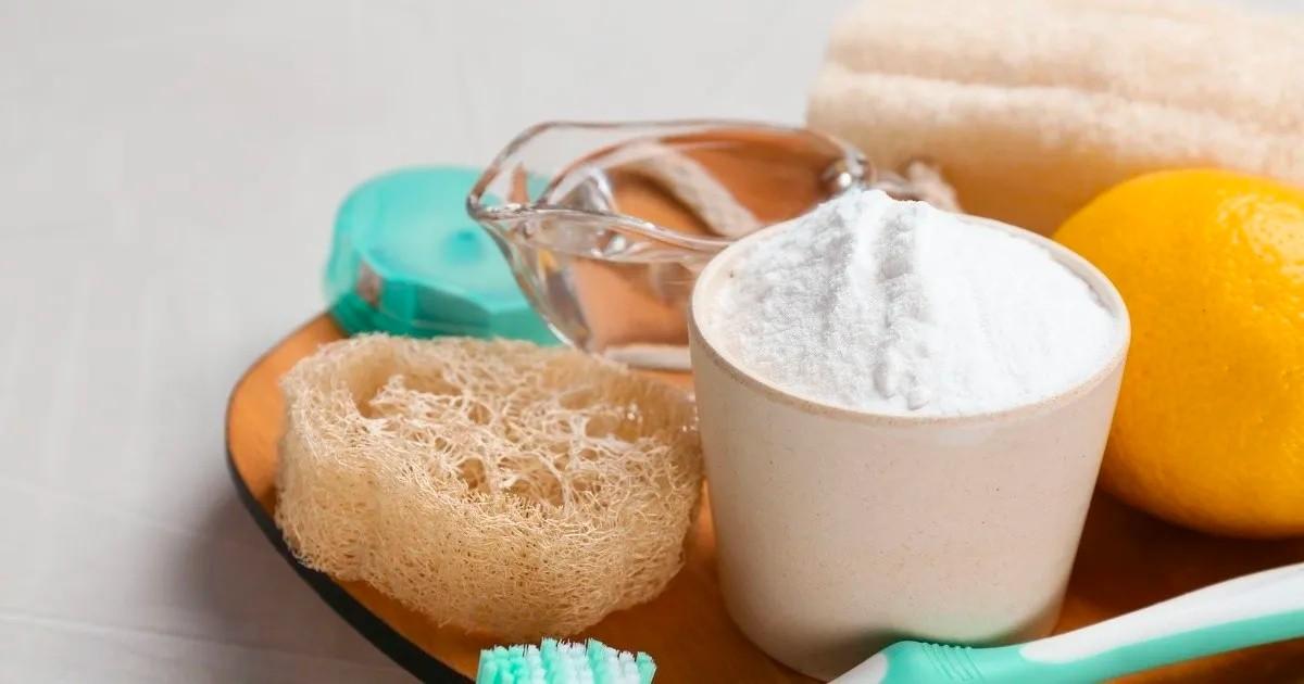 Schimmel verwijderen baking soda