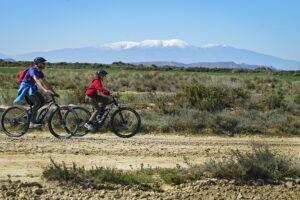 Ruta e bike bardenas