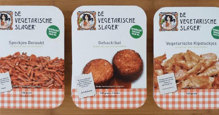 Vleesvervangers vegetarische slager